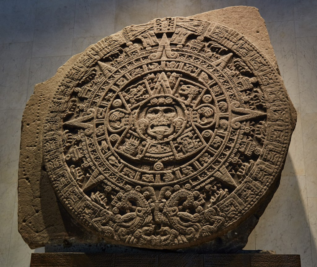 Aztec Sun Disk Mexico City