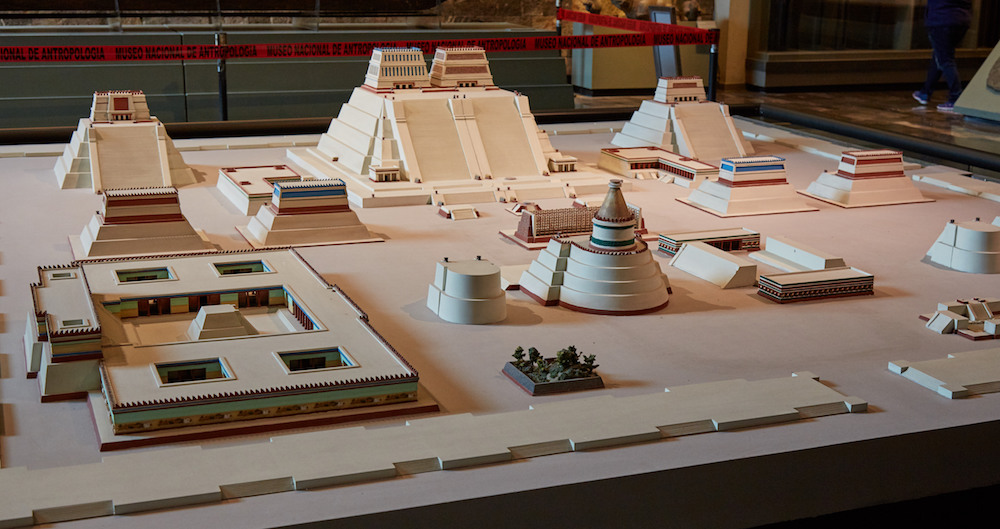 Templo Mayor Model