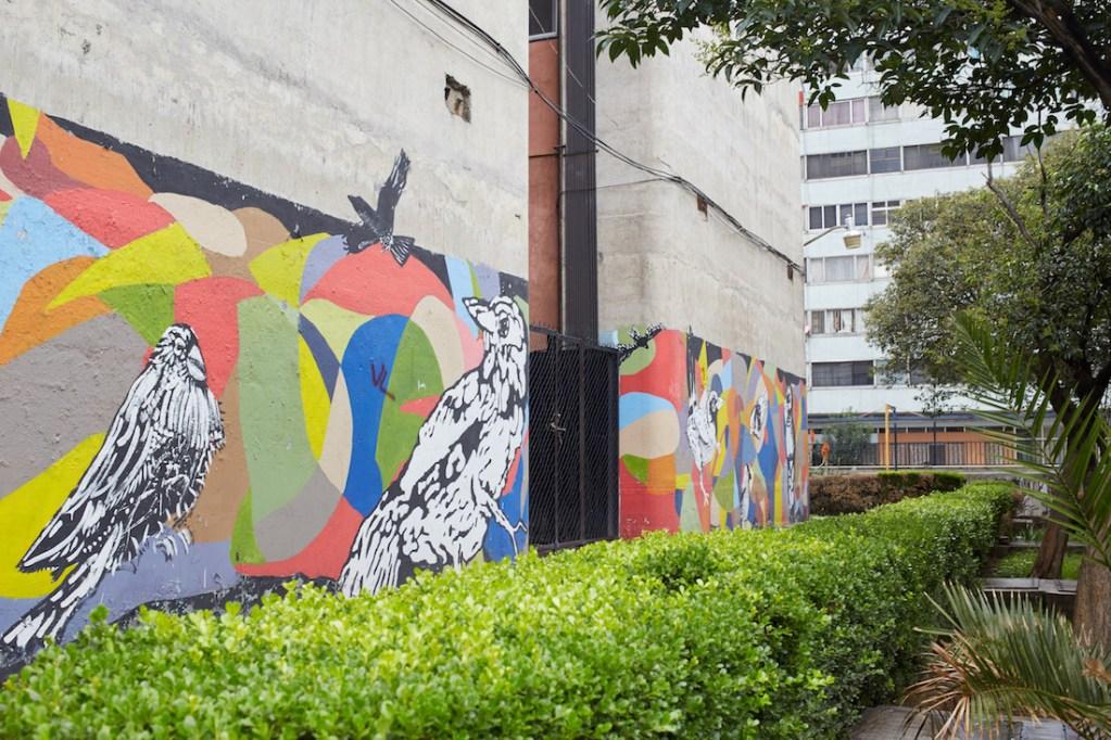 Tlatelolco Mural Birds