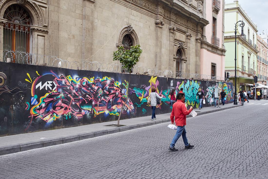Mexico City Street Art Calle Regina