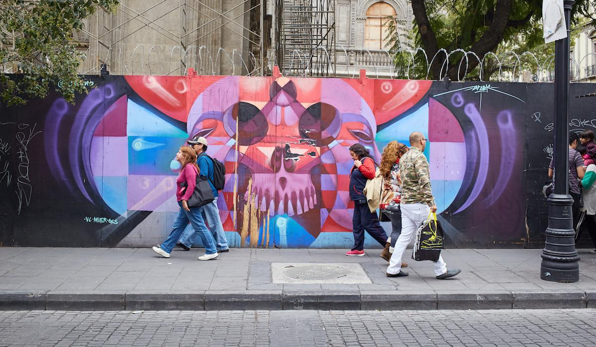Centro Historico Mexico City Street Art