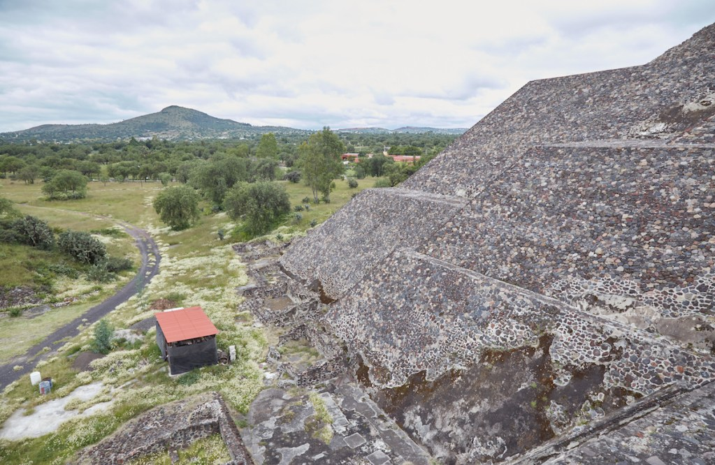 Pyramid of the Moon View