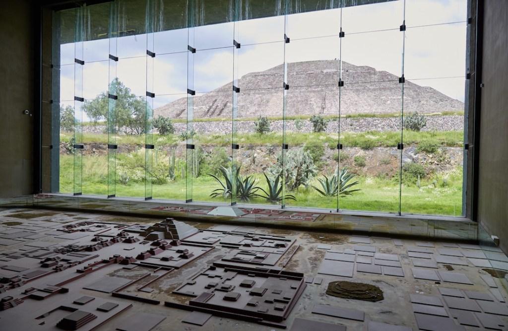 Teotihuacan Model Pyramid of the Sun