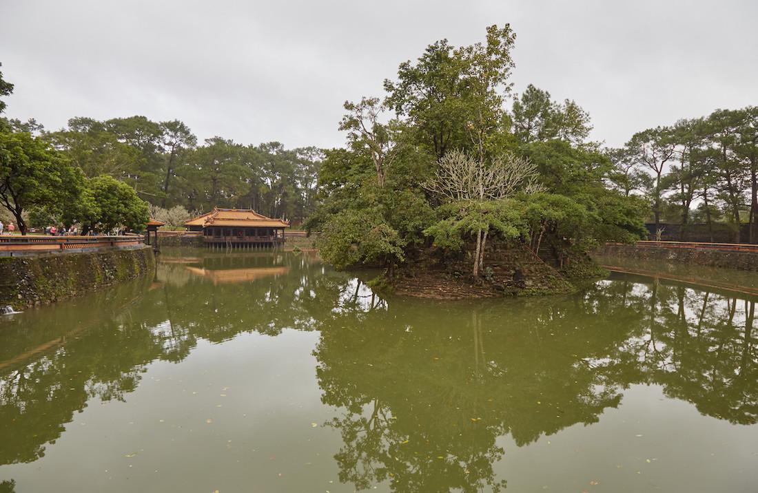 Tu Duc Tomb Pond