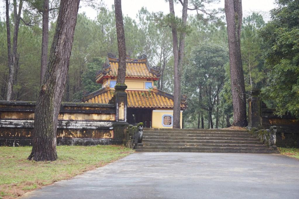 Stele Pavilion Gia Long
