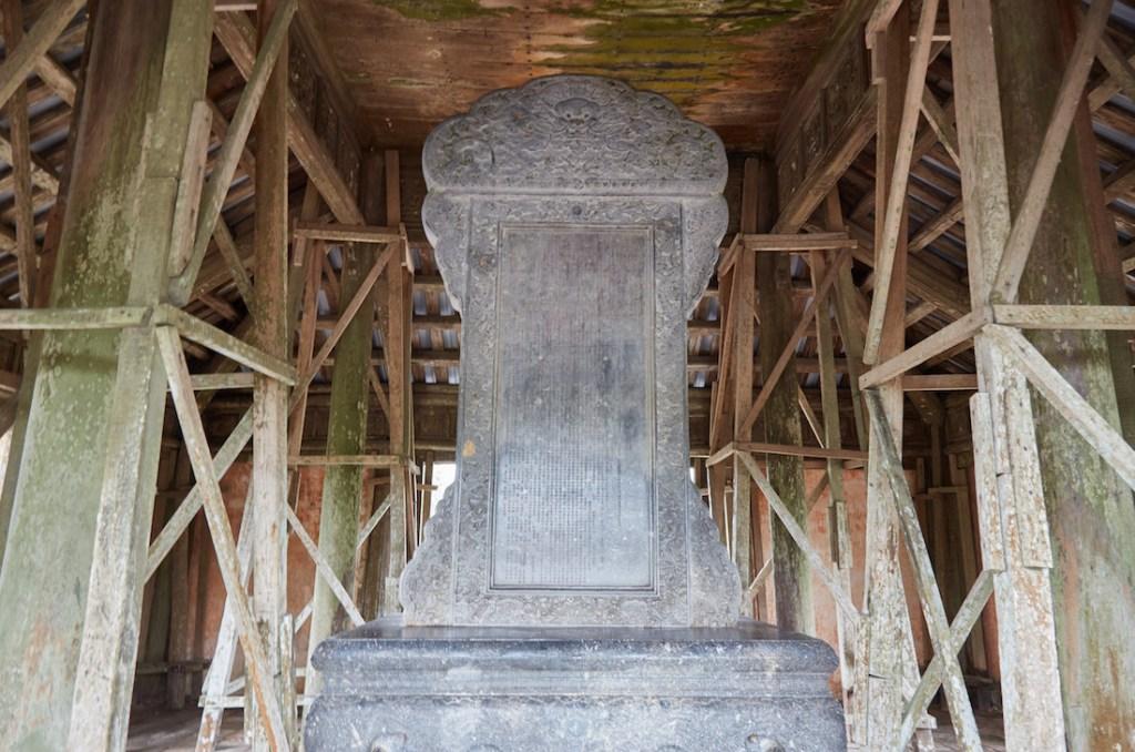 Thieu Tri Tomb Stele