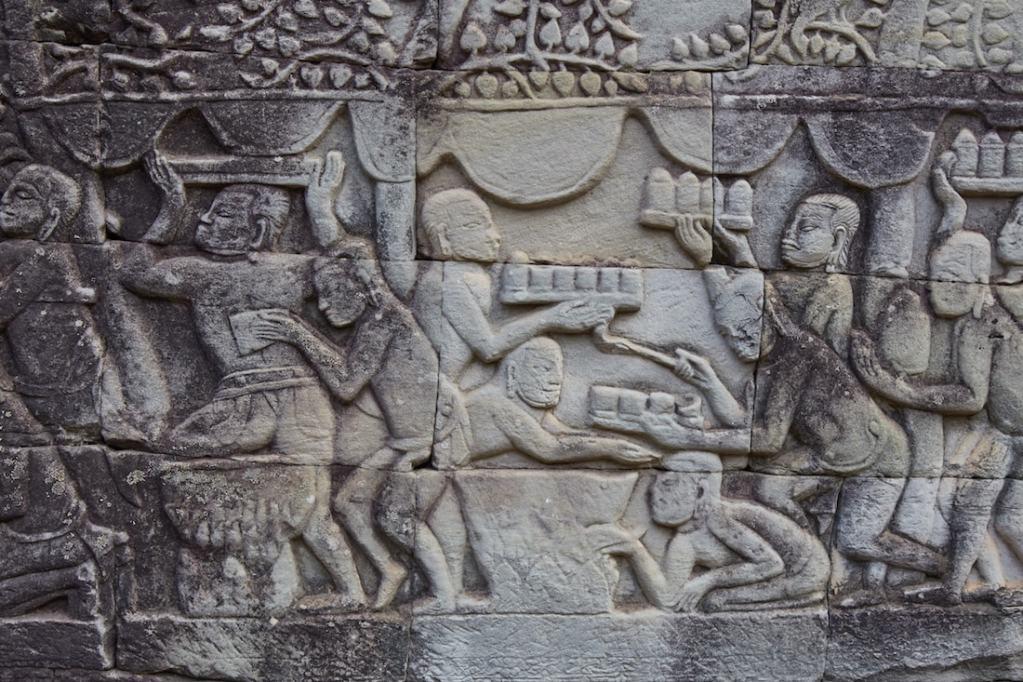Bayon Bas-Reliefs