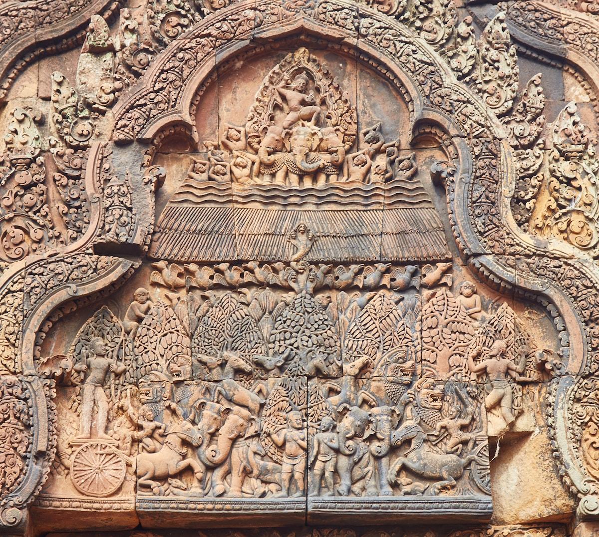 Mahabharata Banteay Srei