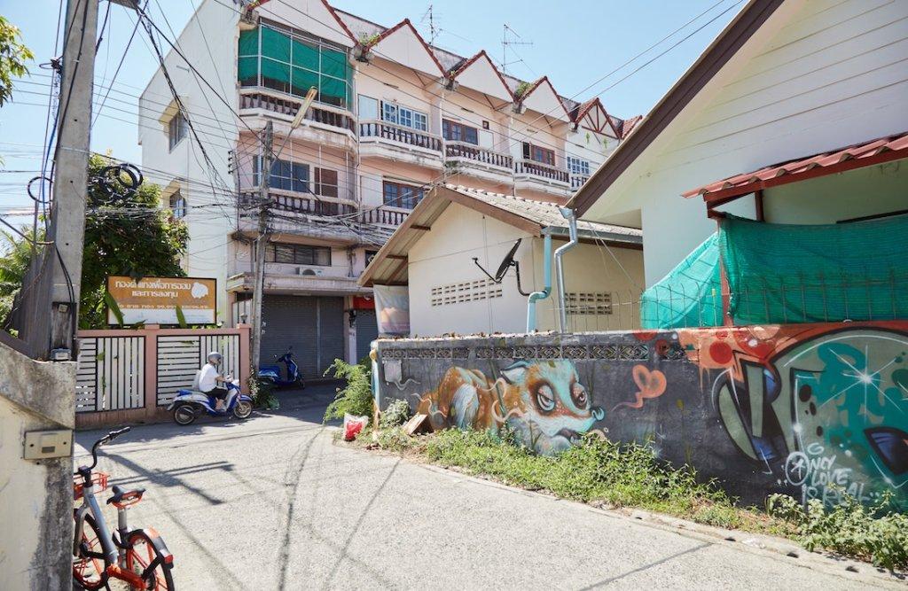 Chiang Mai Old City Street Art