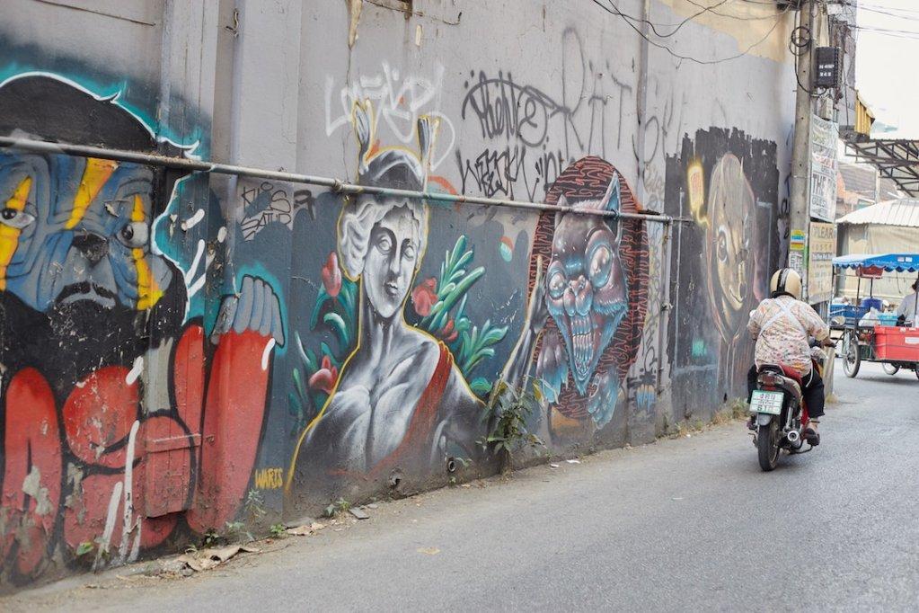 Thapae Rd Chiang Mai Street Art