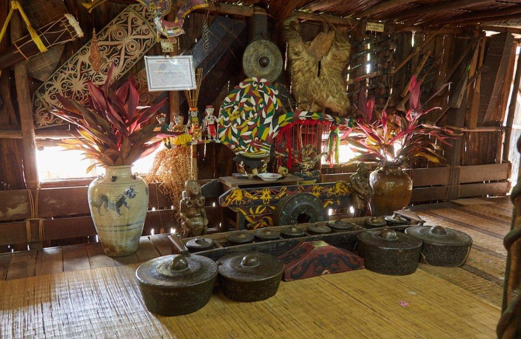 Sarawak Cultural Village Iban
