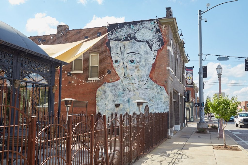 St Louis The Grove Murals