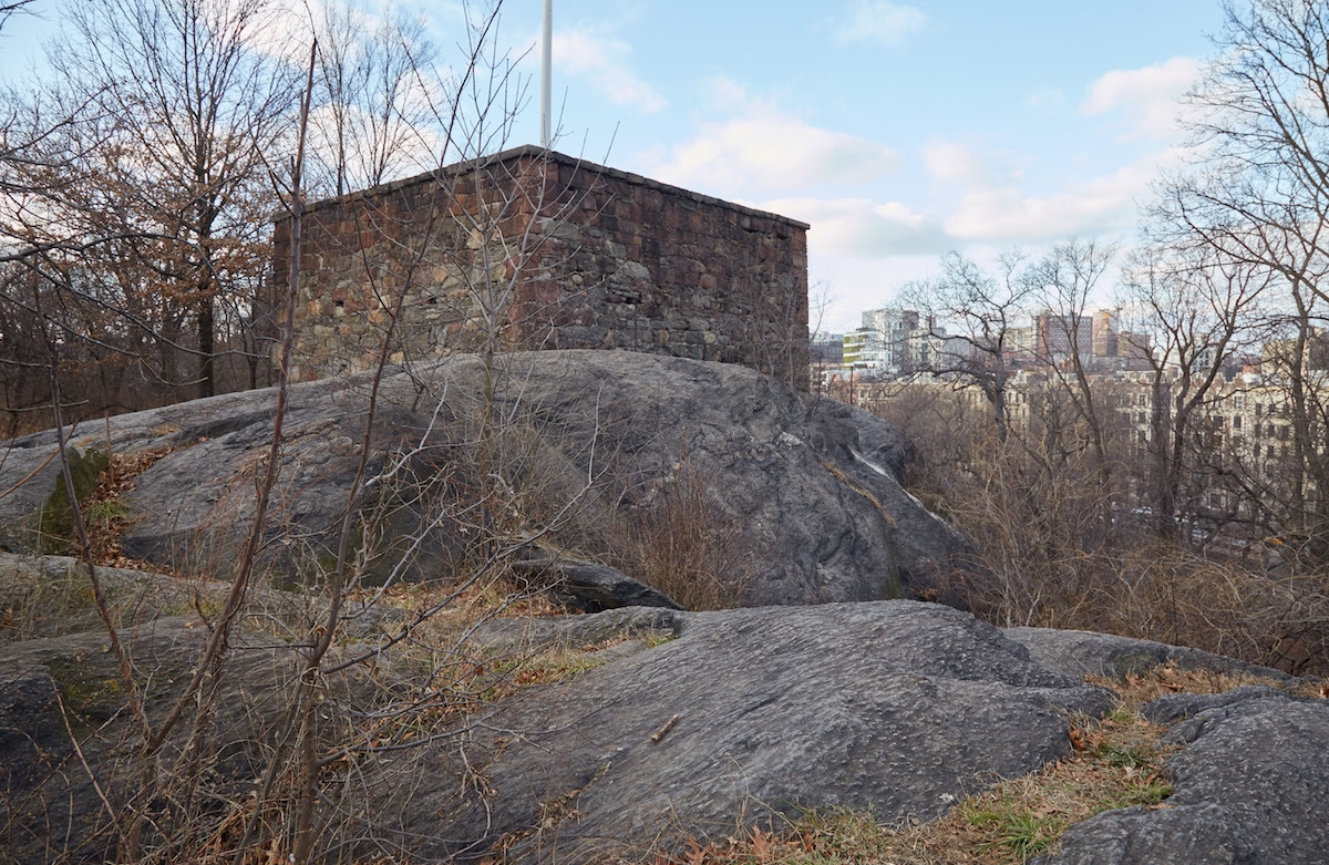 NYC Central Park The Blockhouse