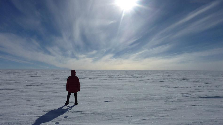 Felicity Aston, author of Alone in Antarctica