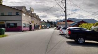 Alert Bay Main Street.Port Mcneil Canada. Photo Ray Pensonjpg