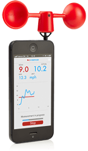 vaavud iphone wind meter