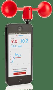 vaavud iphone wind meter