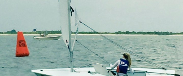 Abbie Carlson Wins Close Leiter Cup/Junior Women's Singlehanded Champs