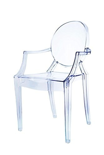 chaises transparentes but