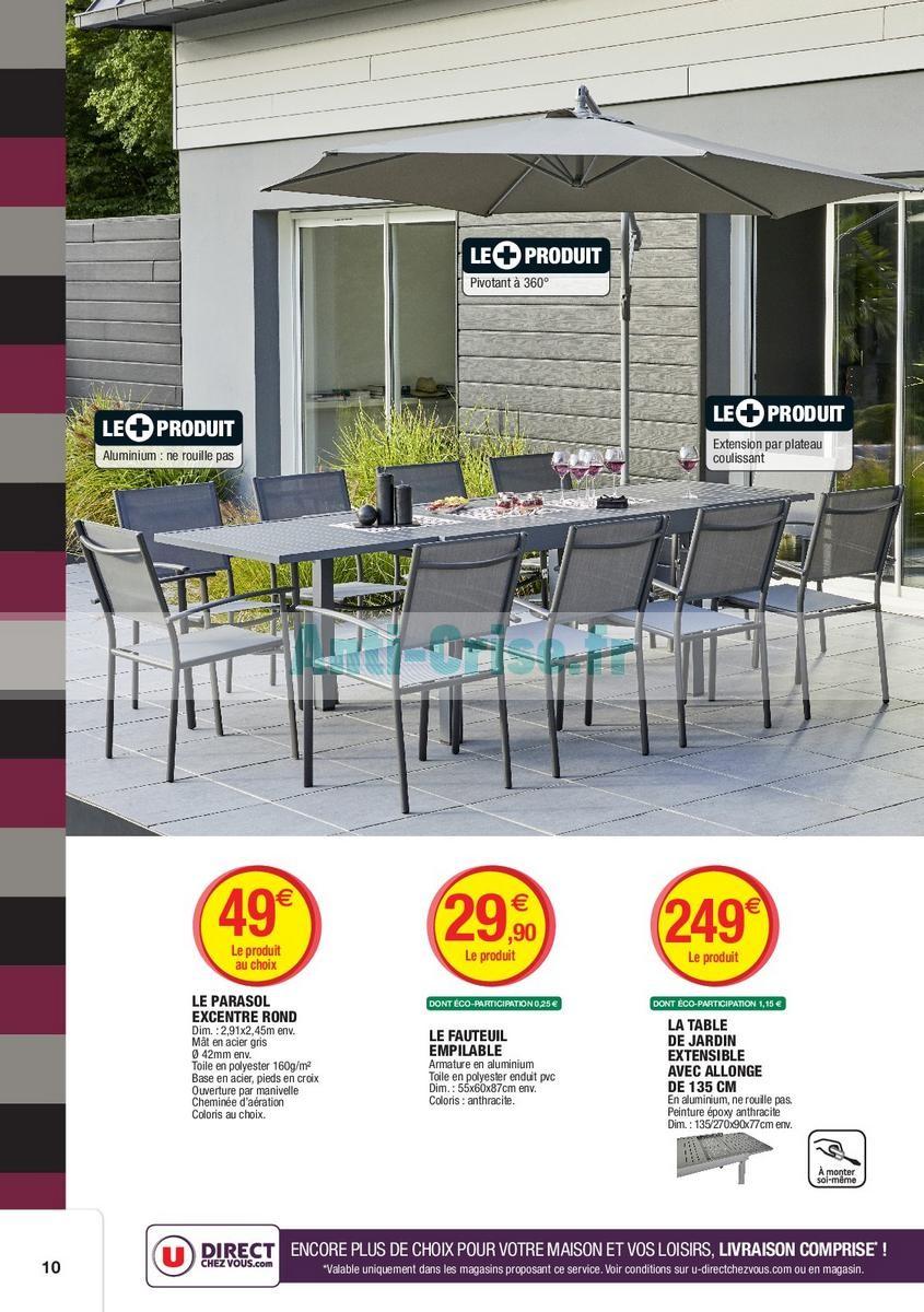 Best Salon Bas De Jardin Super U Pictures - House Design ...