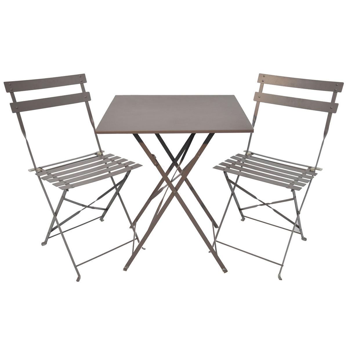 Table De Jardin Ronde La Foir Fouille | Table Jardin Metal Pliante ...