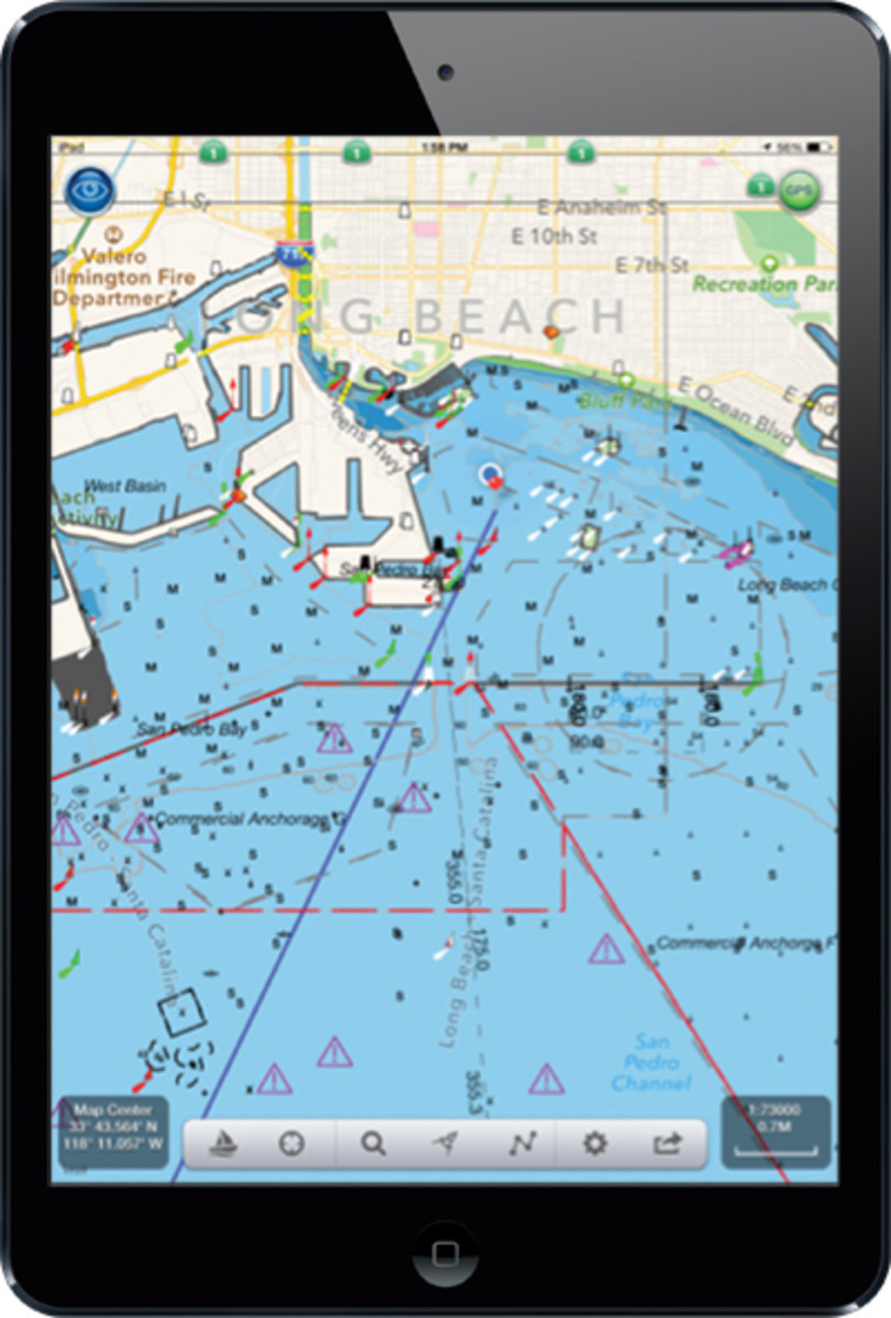 What Type Of Map Is Best Suited For Maritime Navigation : suited, maritime, navigation, Navigating, Apple, Android, Device, Magazine
