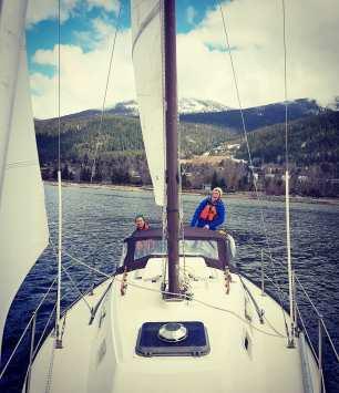 Spring sailing!