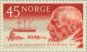 Фрам, Амундсен - марка Норвегии 1961
