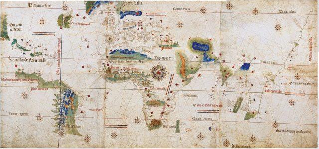 Линия раздела по Тордесильядскому договору