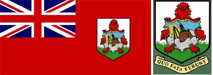 Флаг и герб Бермудских островов