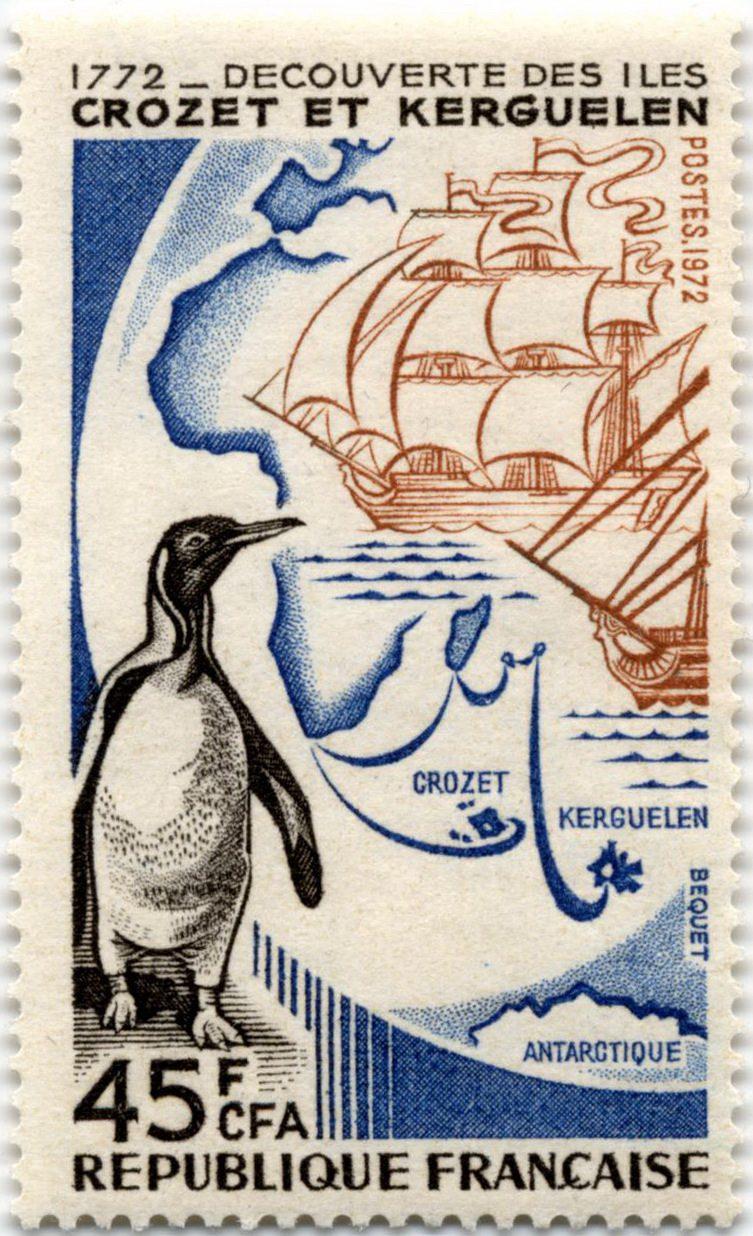 Открытие островов Крозе и Кергелен
