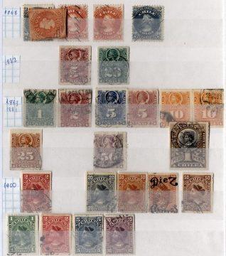Чили - марки с Колумбом