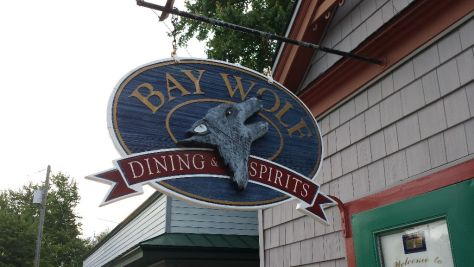 Bay Wolf Sign