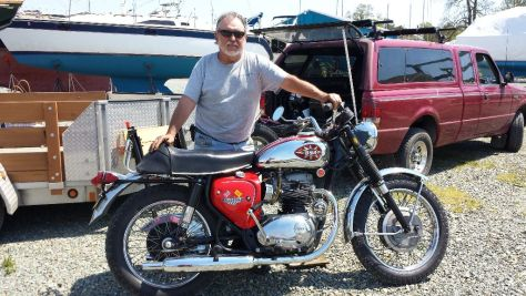 Randy put the BSA through its paces