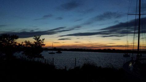 Sun Set Boat yard