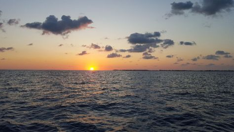 Sunrise over Bimini