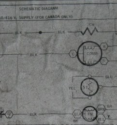 luckily the unit has a basic schematic on the inside of the electrical comparment cover  [ 1600 x 626 Pixel ]