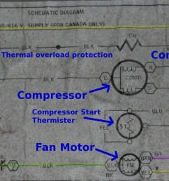 for those of you who don t have the benefit of experience i took the liberty of marking the schematic up a little to clarify please pardon my cartoonish  [ 1600 x 626 Pixel ]
