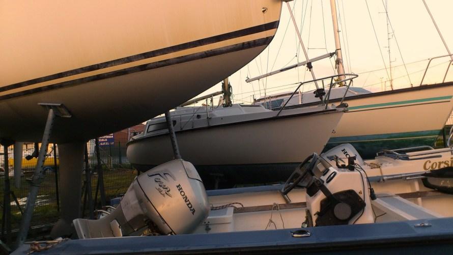 Nouveaux voisins : pas simple d'accéder au bateau