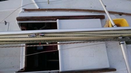 Cartographie du mat : barres de flêches, vues du dessus