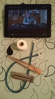 Patrick Moreau sur l'iPad et mes outils en main