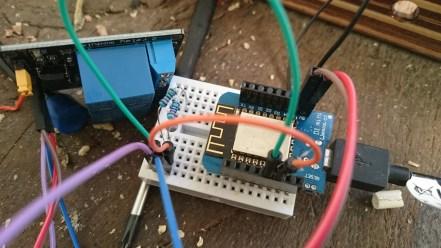ESP8266 et module à relais