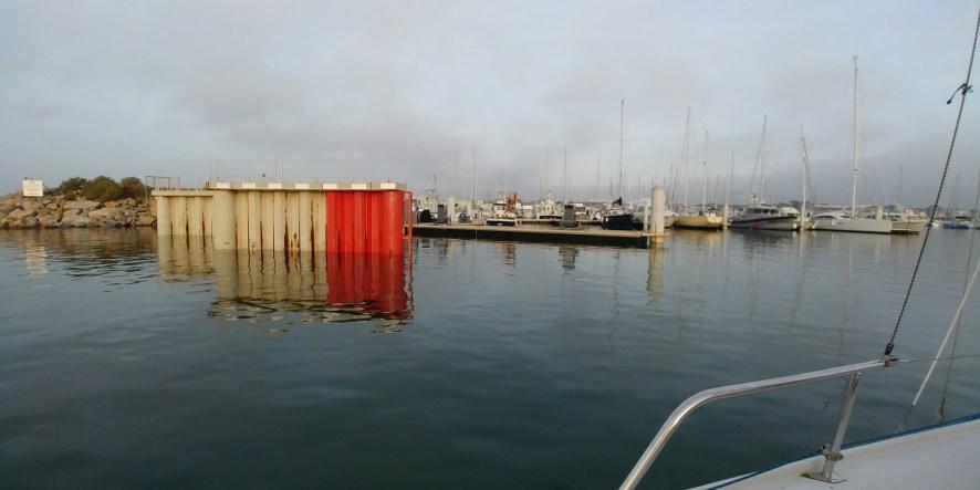 Entrée du port