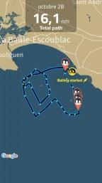 Sailing Log - octobre 28