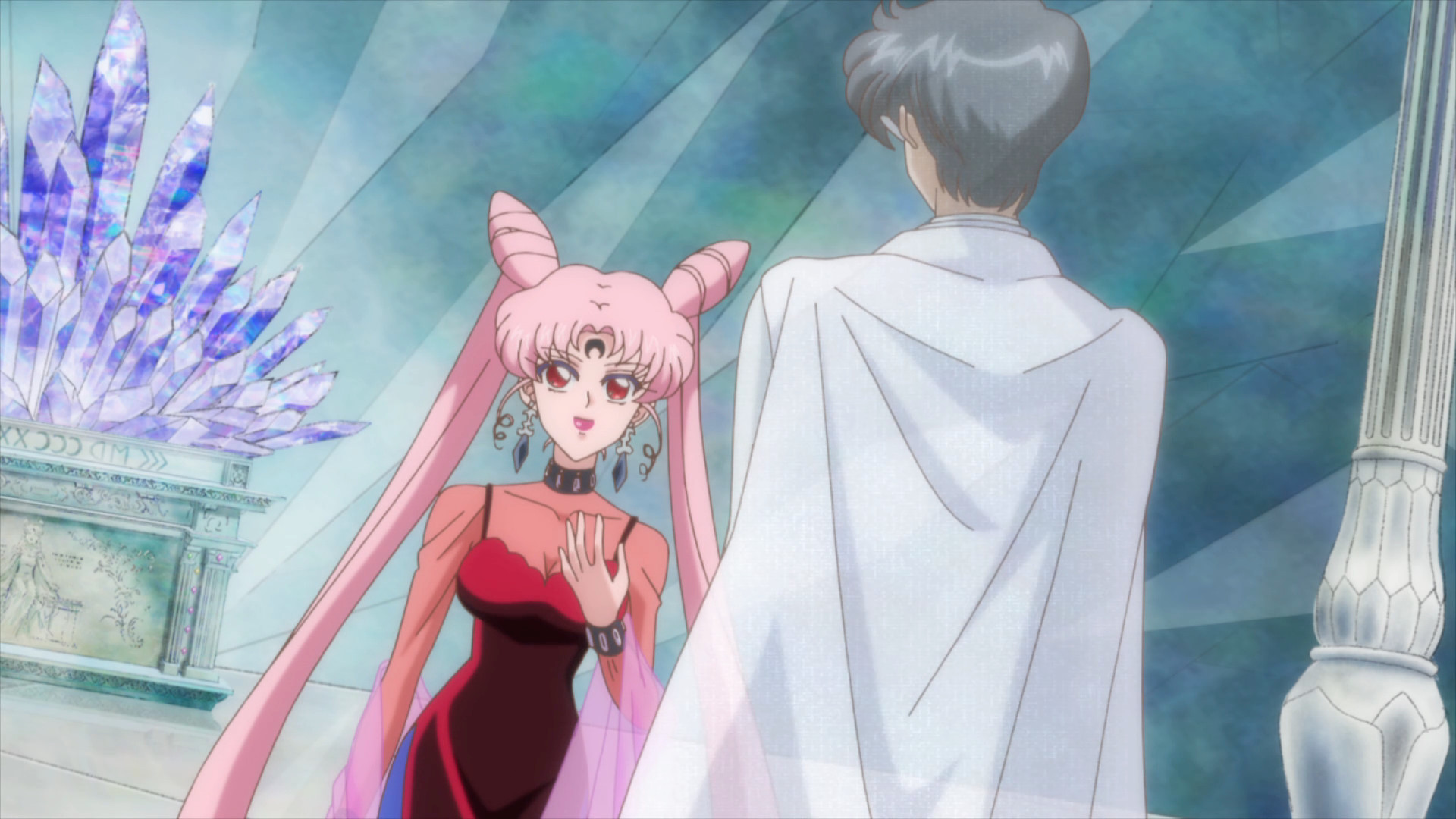 Sailor Moon Crystal Act 23 Black Lady And King Endymion