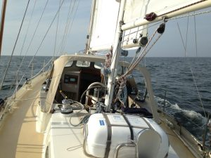 Sailing to Norway