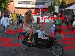 08 Dutch mom on bakfiets