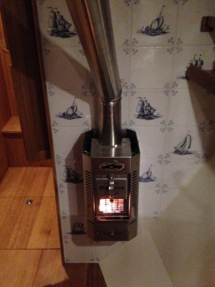Our wood stove for renewable heating energy