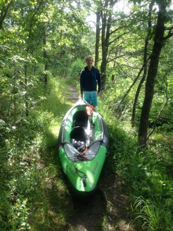 Walking the Kayak