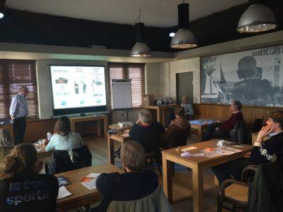 Sailors for Sustainability at Meteo Henk Huizinga